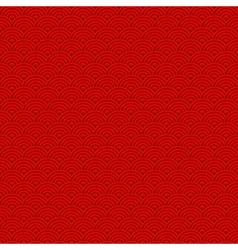 Red Chinese background pattern for new years vector image vector image