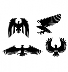 eagle symbol vector image