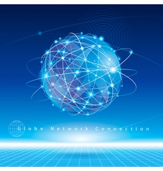 Global Network vector image