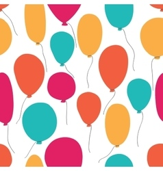 Party baloons pattern vector