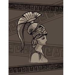 Athena drawing set vector