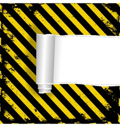 Danger background vector