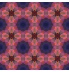 Kaleidoscope abstract colorful pattern vector image vector image