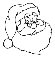 Santa cartoon vector