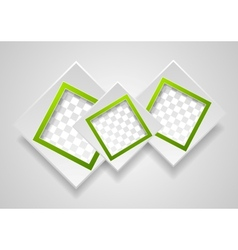 Abstract modern frames background vector