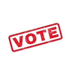 Vote rubber stamp vector