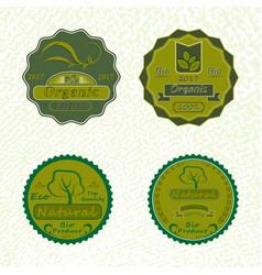 set of badges vector image