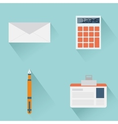 Office objects vector