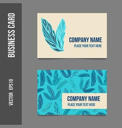 CORPORATE business cards vector image
