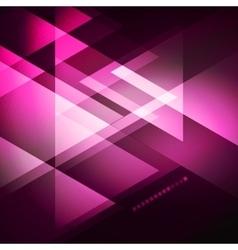 Elegant geometric purple background vector
