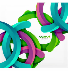 Modern 3d geometrical style background arch vector