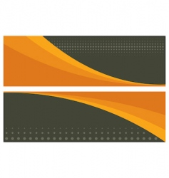 abstract banners headers vector image