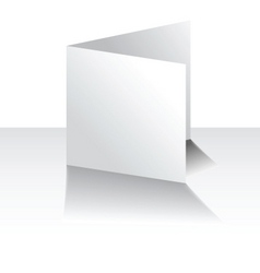 blank card vector image vector image