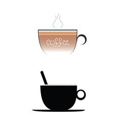 coffee color vector image vector image