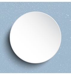 frame on a background of snow Eps 10 vector image vector image