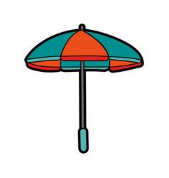 parasol umbrella icon image vector image vector image