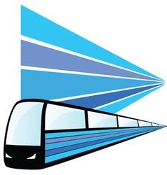 Train speed vector