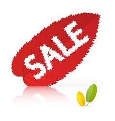 Leaf sale vector
