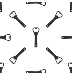 Bottle opener icon vector