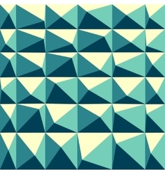 Abstract polygonal Geometrical Multicolored mosaic vector image vector image