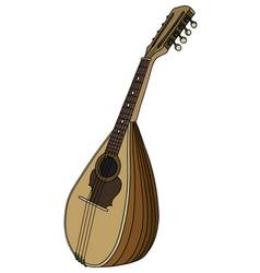 Classic mandolin vector