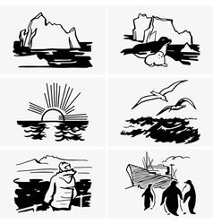 North sea vector image vector image