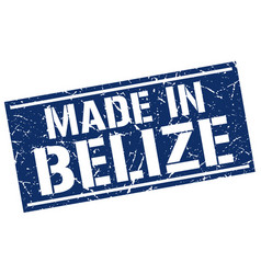 Made in belize stamp vector