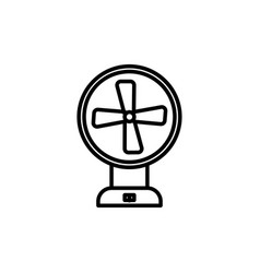 ventilator icon vector image