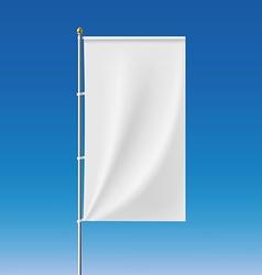 White banner stock vector