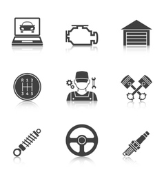 Auto service icons vol 2 vector