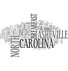 Asheville north carolina bed and breakfast a vector