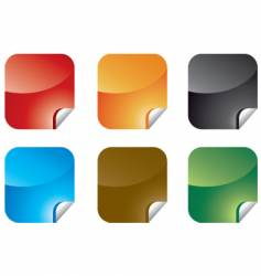 sticky-notes illustrations vector image