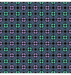 Geometric color pattern vector