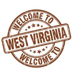 Welcome to west virginia vector