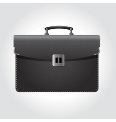 dark briefcase icon vector image