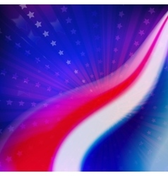 abstract American Flag colors for vector image