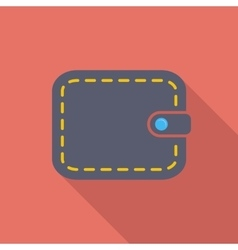 Purse icon vector