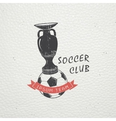 Set of soccer football club sport team detailed vector