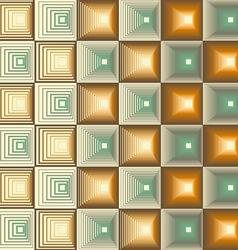 Three Seamless Retro Patterns vector image