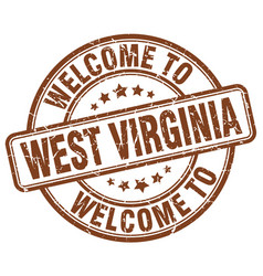 Welcome to west virginia vector