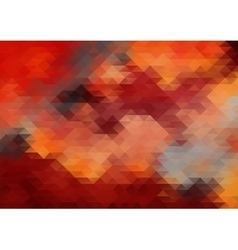 Abstract red grunge background vector