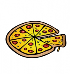 Pizza vector