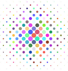 Abstract circle pattern background - geometric vector