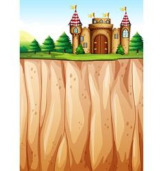 Castle vector image vector image