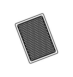 Casino card game concept vector image