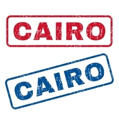 Cairo rubber stamps vector