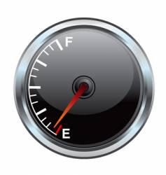gas gauge illustration vector image vector image