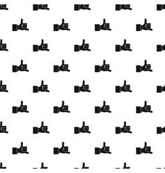 Gesture surfing pattern simple style vector