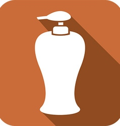 Soap dispenser icon vector