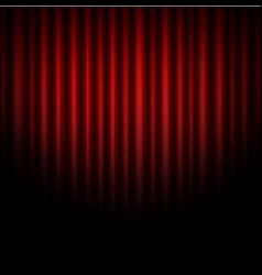 Curtain abstract of red background vector